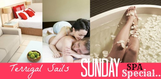 Sails Sunday SPA Special!